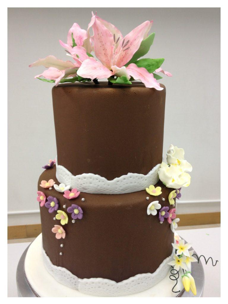 花型糖皮蛋糕