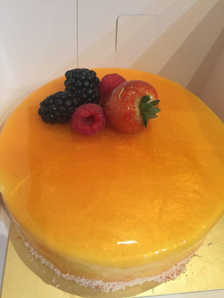 熱情果芒果椰子蛋糕