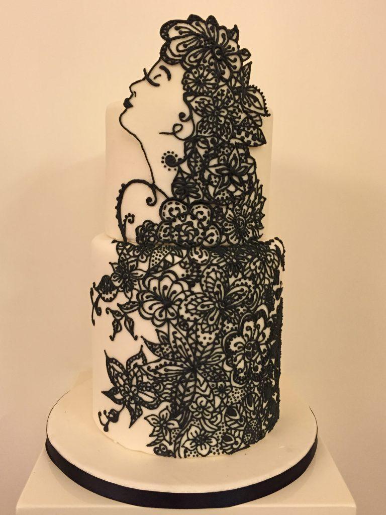 禪結造型蛋糕