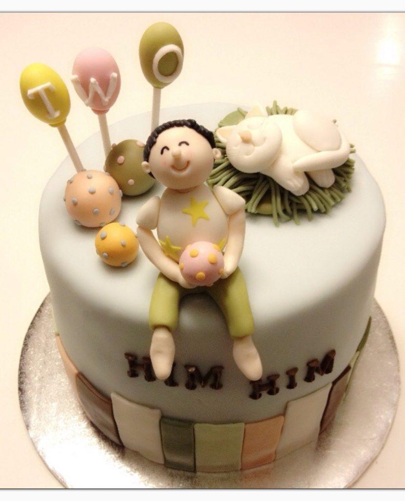 小男孩造型蛋糕
