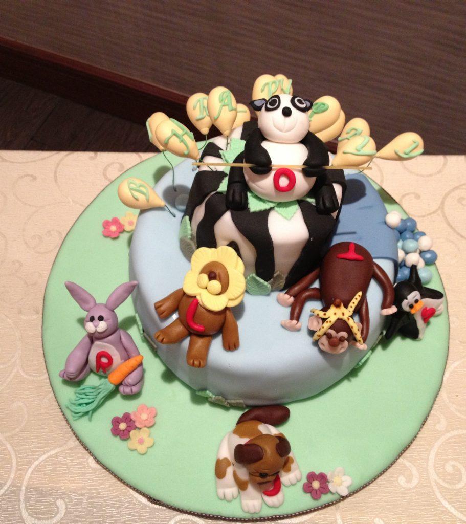 動物造型蛋糕